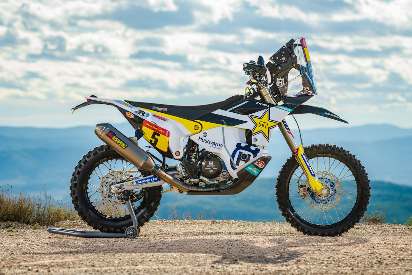 Luciano Benavides signs with Rockstar Energy Husqvarna Factory Racing Rally Team
