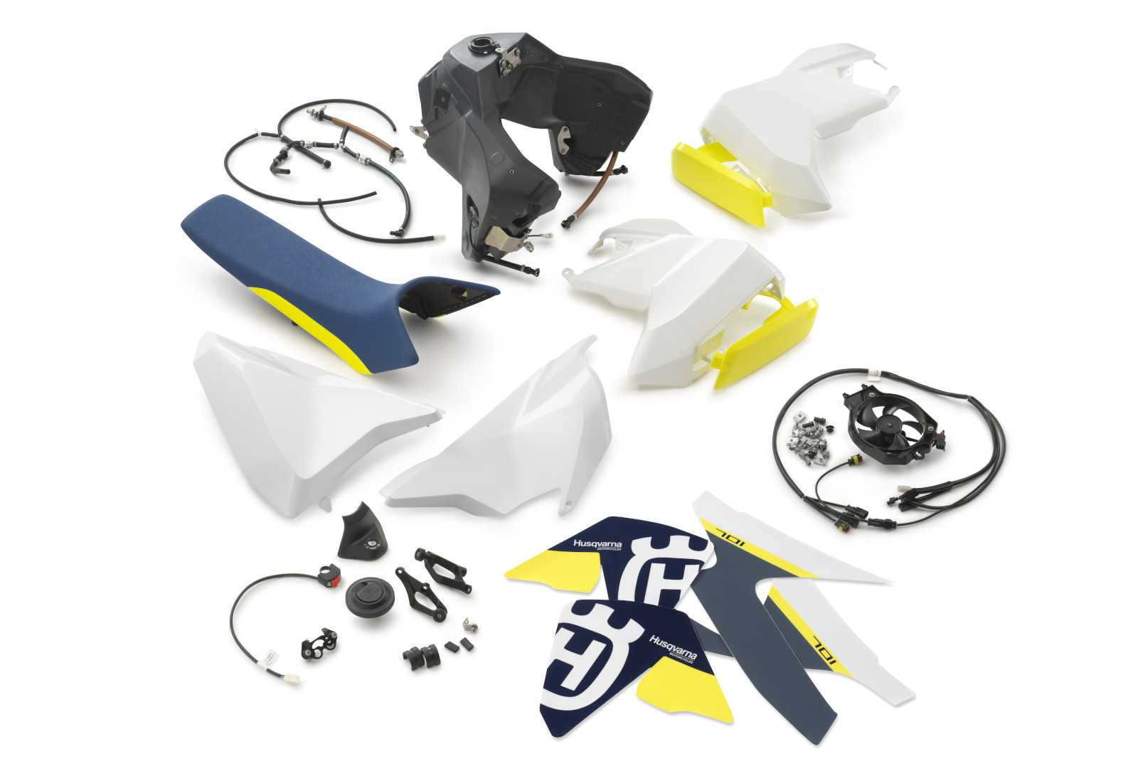 Bigger fuel tank kit for Husqvarna's 701 ENDURO
