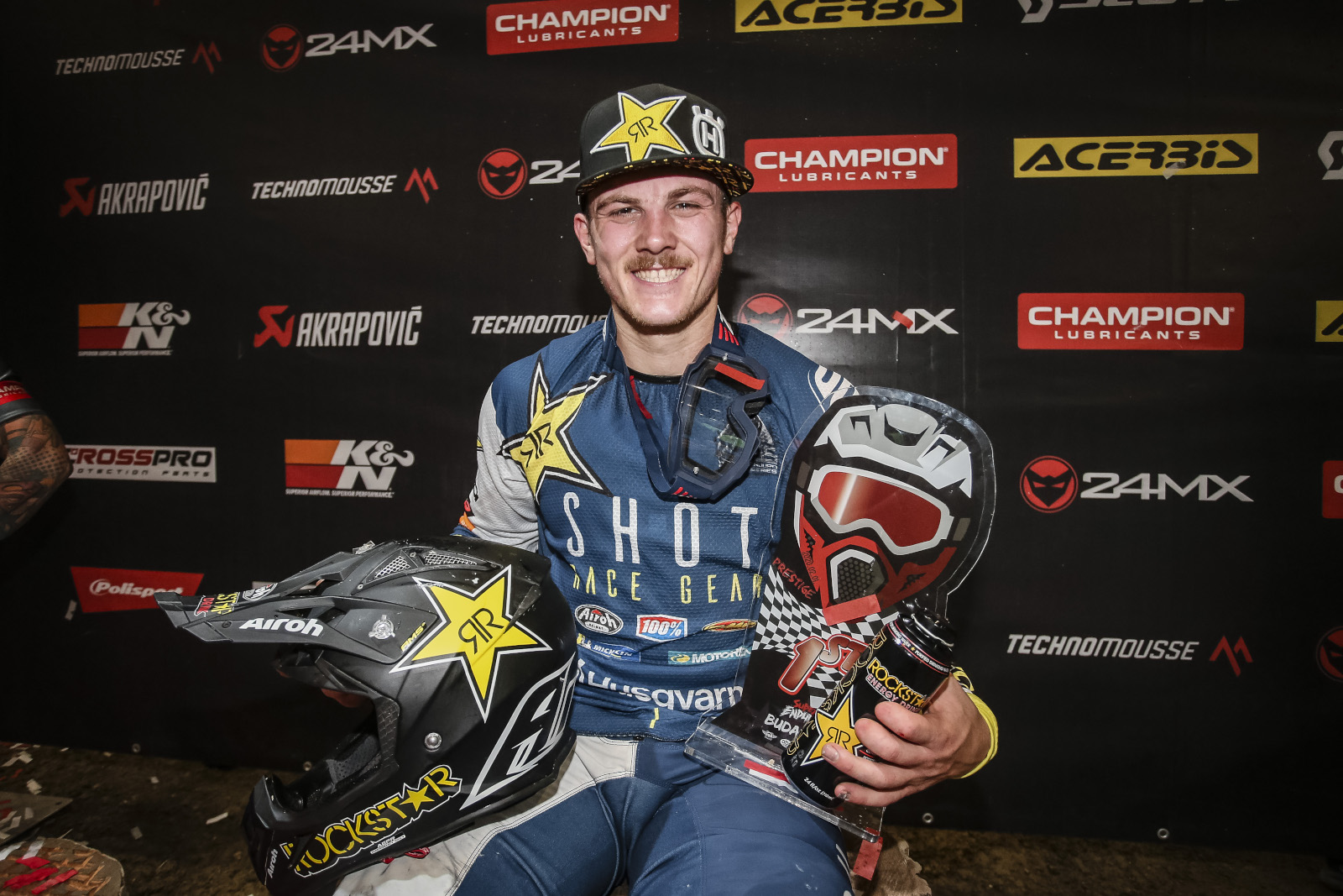 Billy Bolt declared 2020 FIM SuperEnduro World Champion