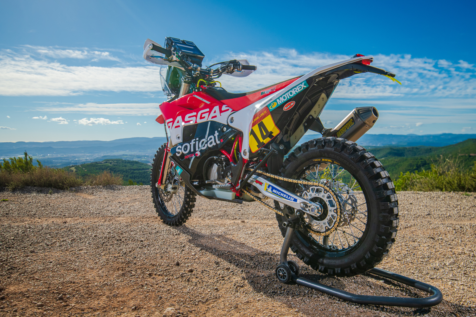 GasGas Motorcycles team up with Motorex
