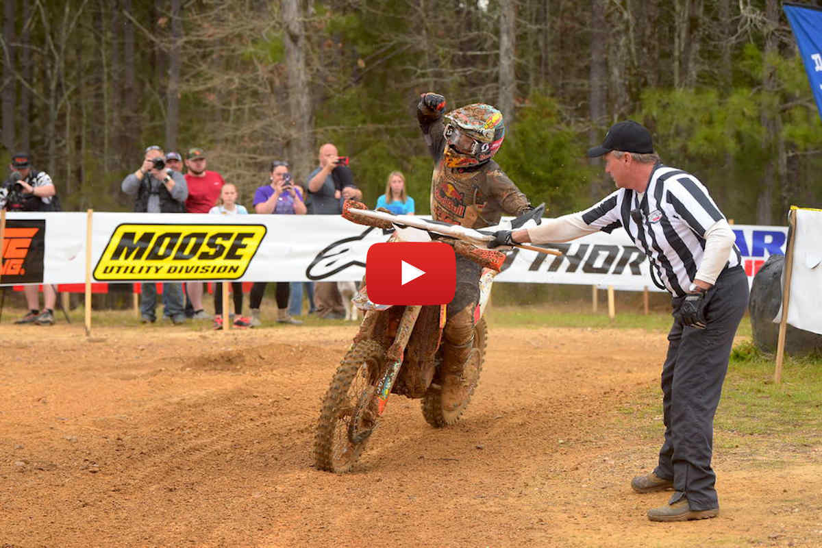 Race highlights from The General GNCC – watch the fight!