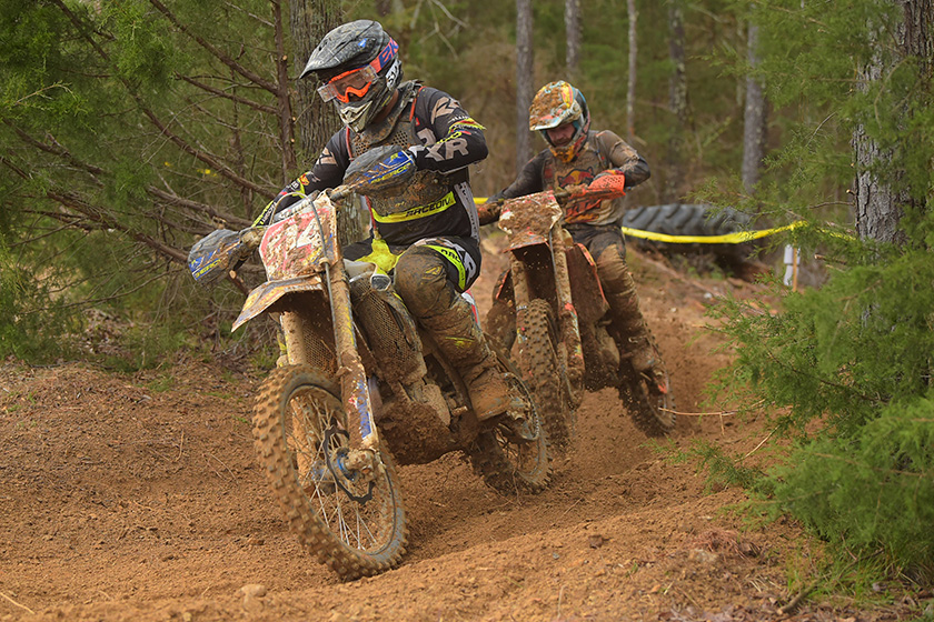 Russell snatches last gasp win from Baylor at General GNCC