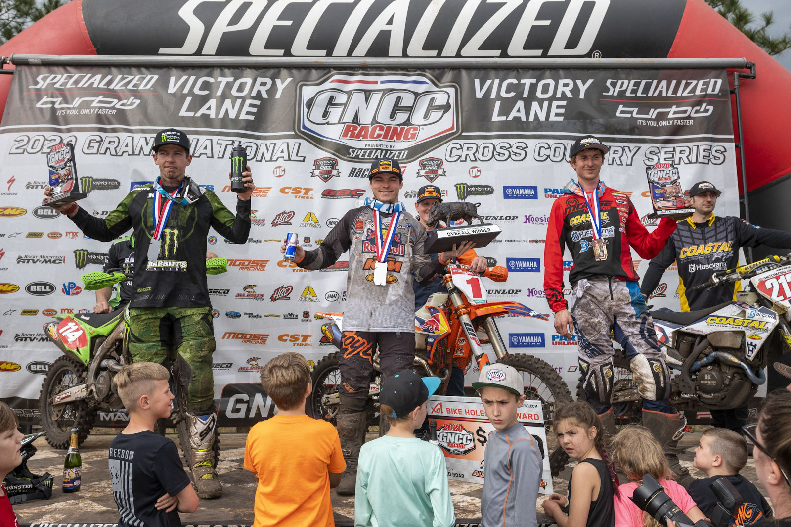 "KTM clean sweep at ""brutal"" Palakta, Wild Boar GNCC round 2"