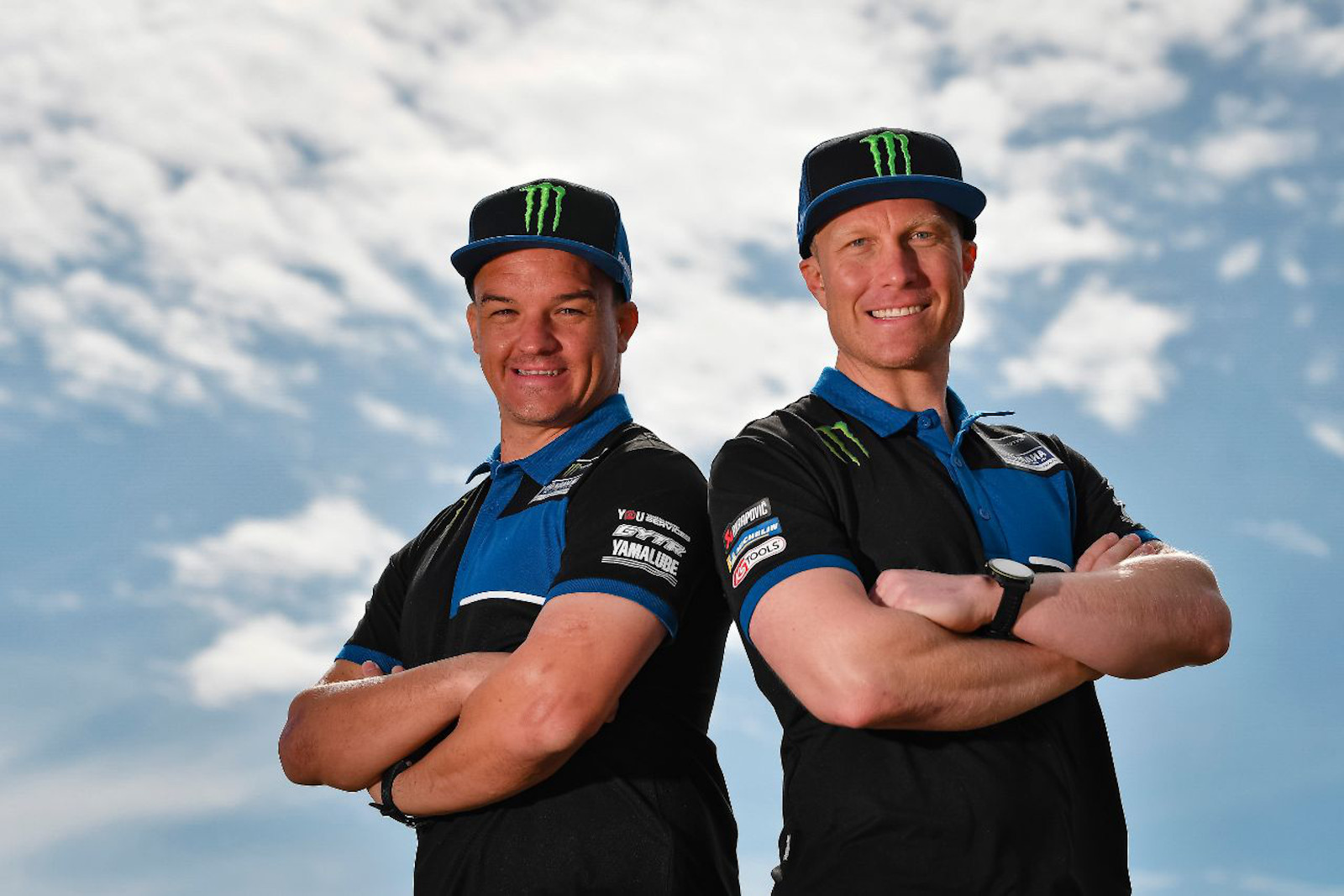 Andrew Short and Ross Branch join Monster Energy Yamaha Rally Team