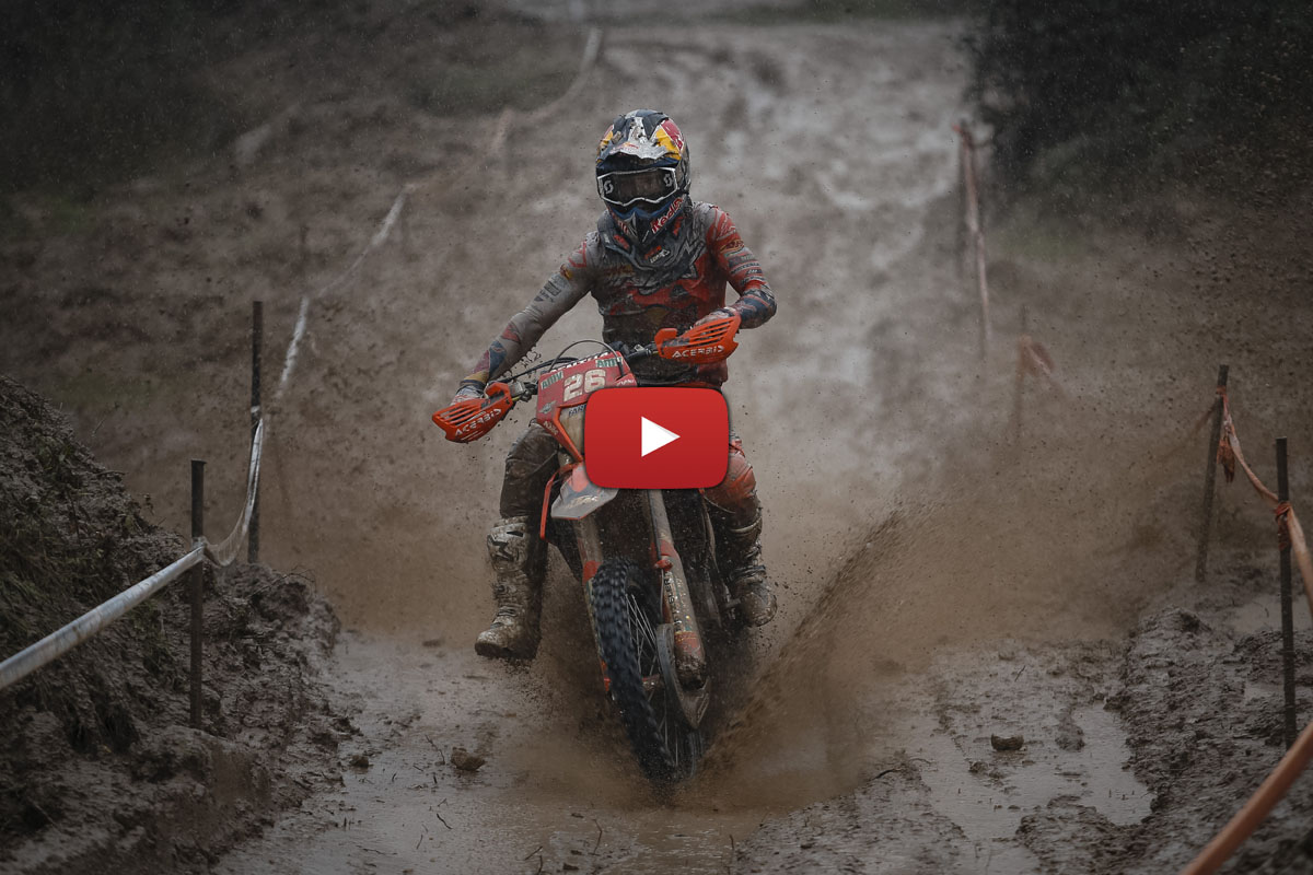 EnduroGP final day video highlights – mud, sweat and tears