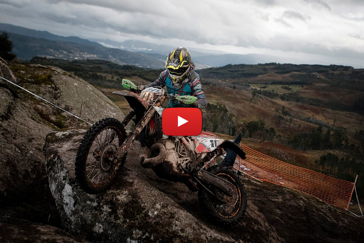 Extended action highlights from Portugal 1 – the penultimate EnduroGP of 2020