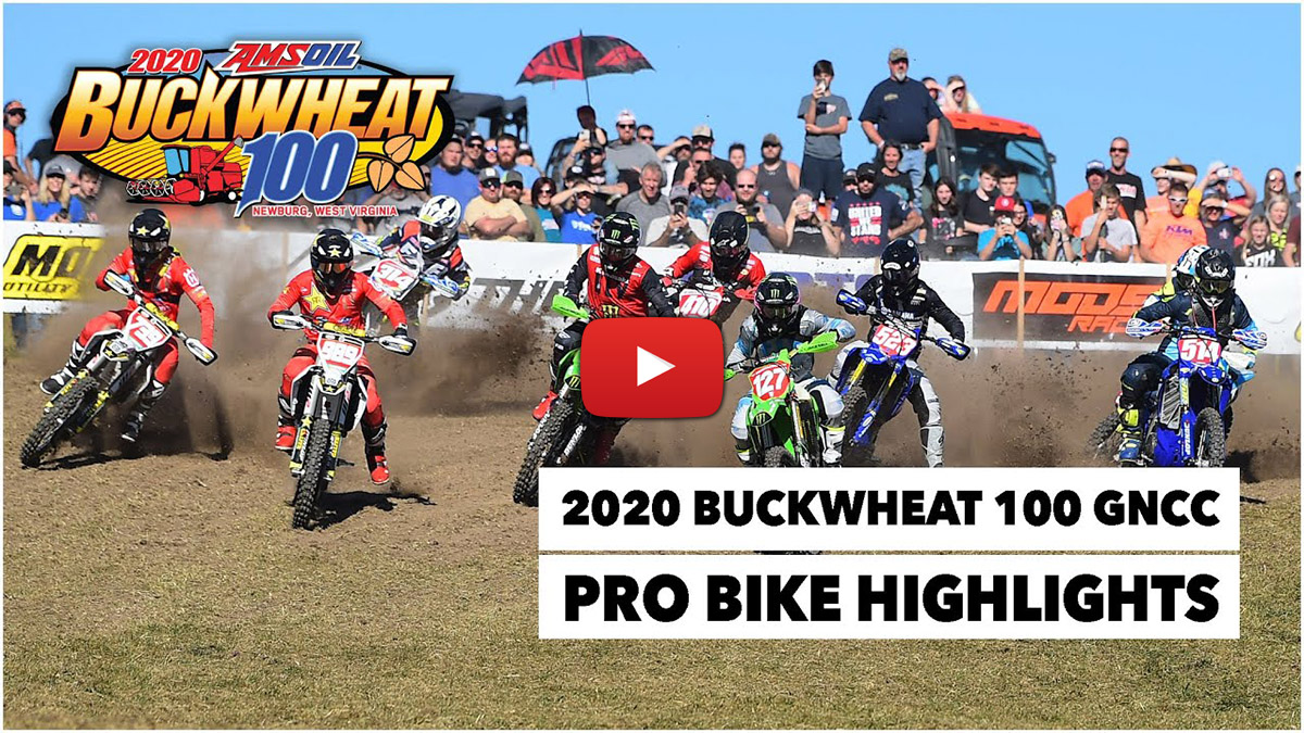GNCC: The Buckwheat 100 – final round of 2020
