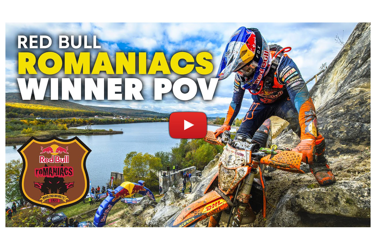 Red Bull Romaniacs: Lettenbichler's 2020 winning ride onboard