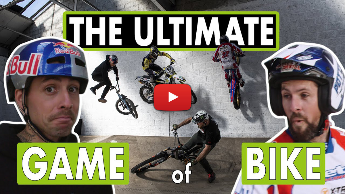 Ultimate Game of Bike – Enduro vs Trials vs MTB vs BMX