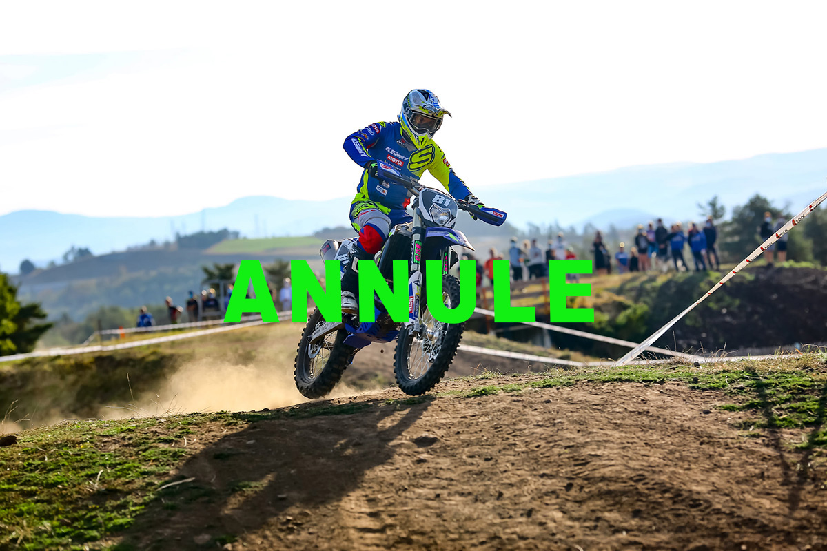 2020 French Enduro Championship finale cancelled