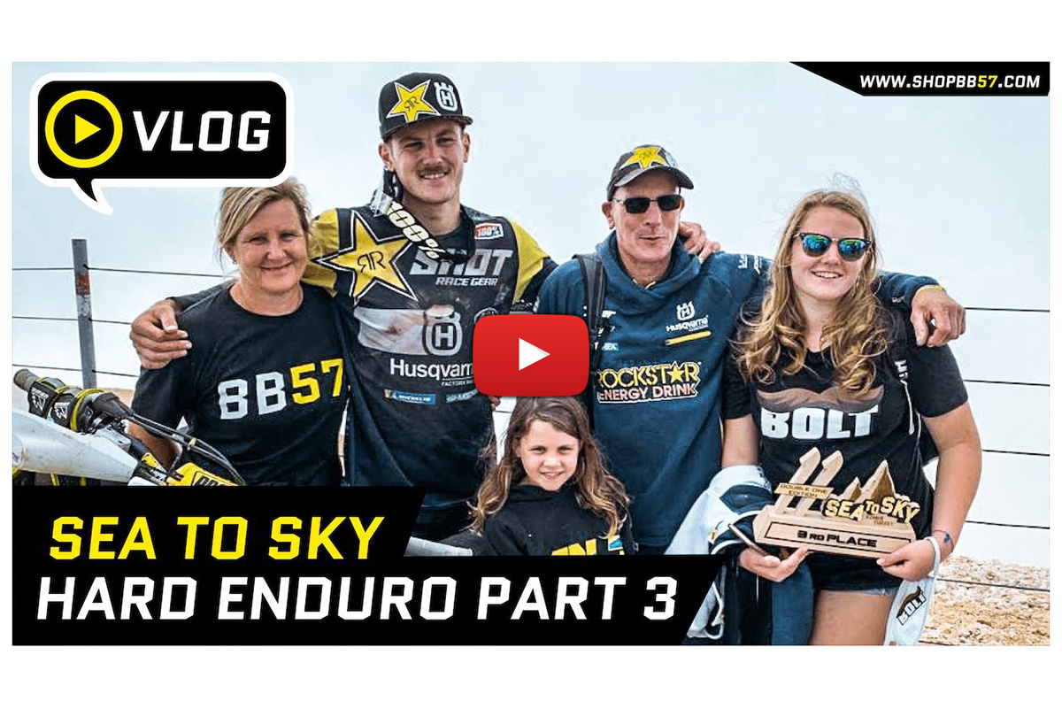 "Extreme Enduro ""day in the life"" – behind the scenes with Billy Bolt"