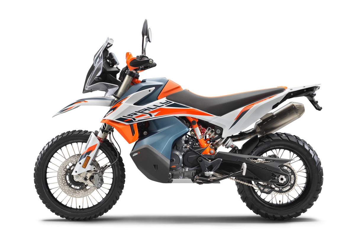 First look: KTM's new 890 Adventure R Rally and 890 Adventure R
