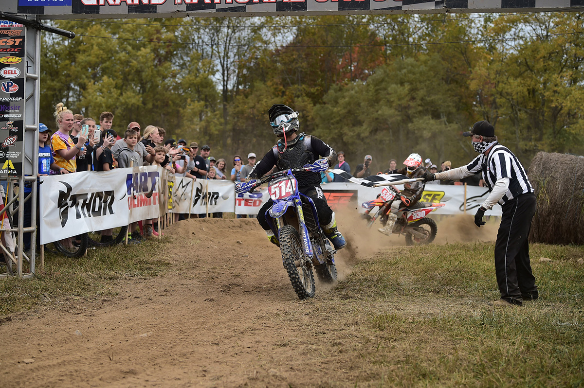 GNCC Results: Baylor's triple at Mason-Dixon – Russell is champ