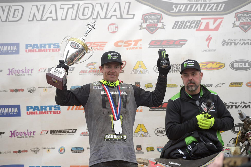 GNCC results: Strang wins from Baylor at epic Ironman GNCC