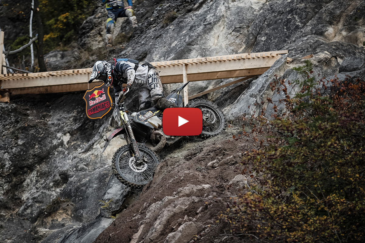 Red Bull Romaniacs: Day 3 video highlights
