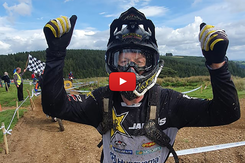 British Extreme Enduro: Jarvis on a mission
