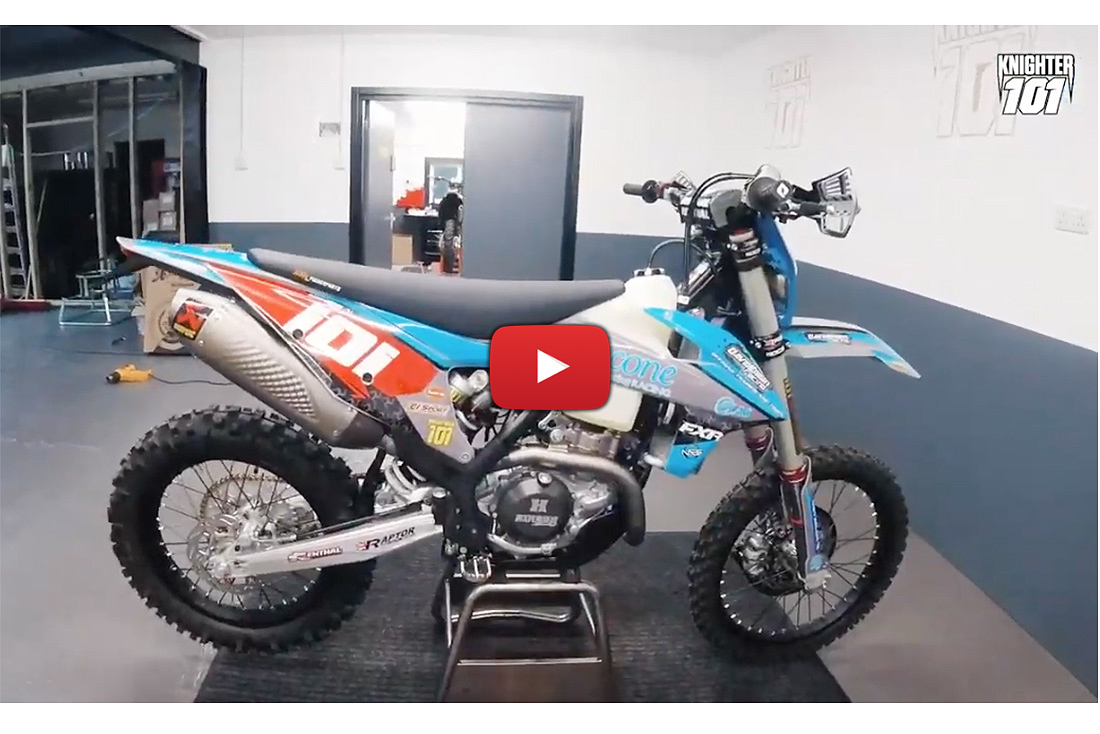 David Knight's KTM 500 EXC-F Pro Bike Build
