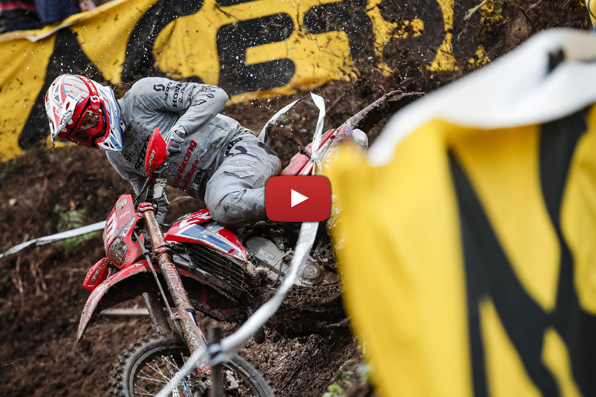 EnduroGP highlights: Day 2 action from France