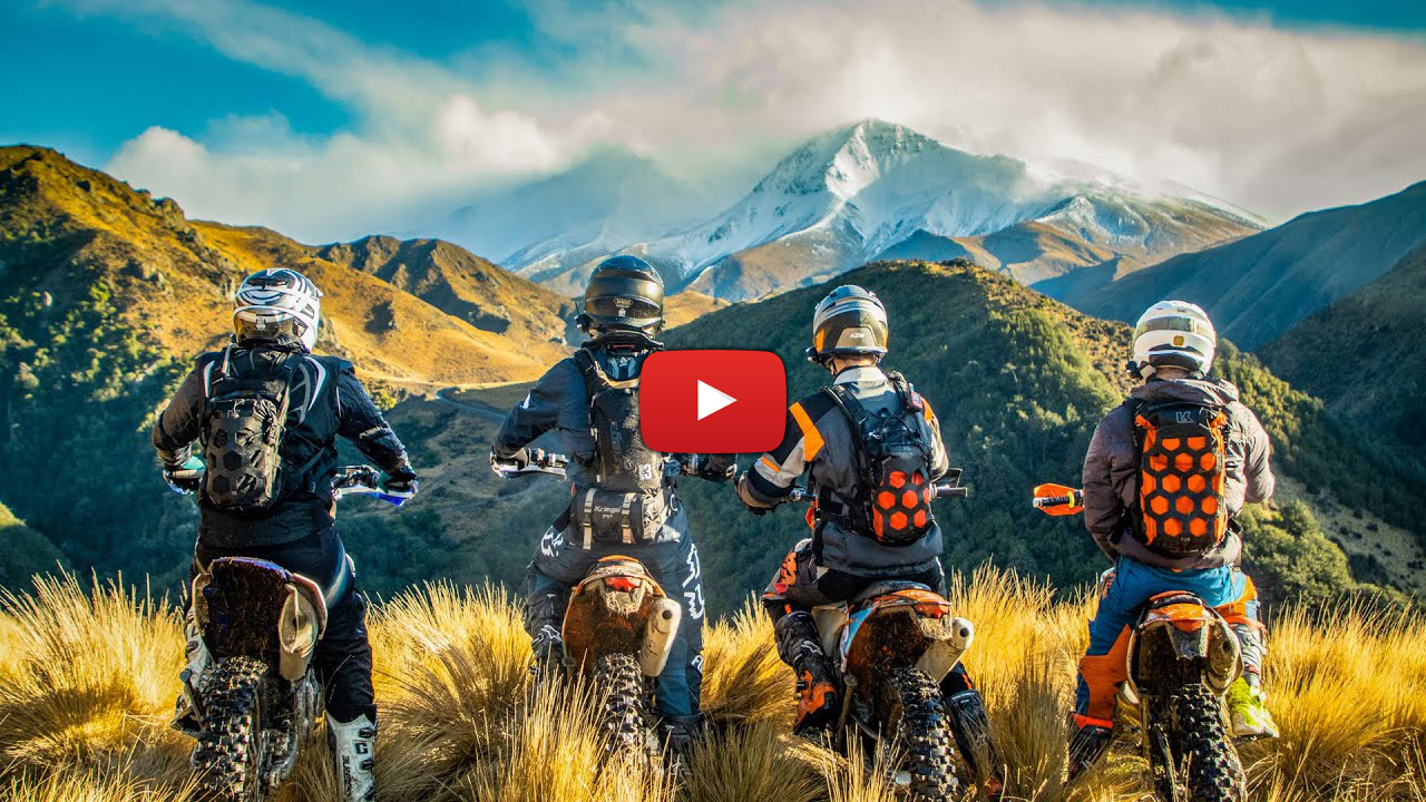 """For the hell of it"" New Zealand free-riding with Chris Birch"