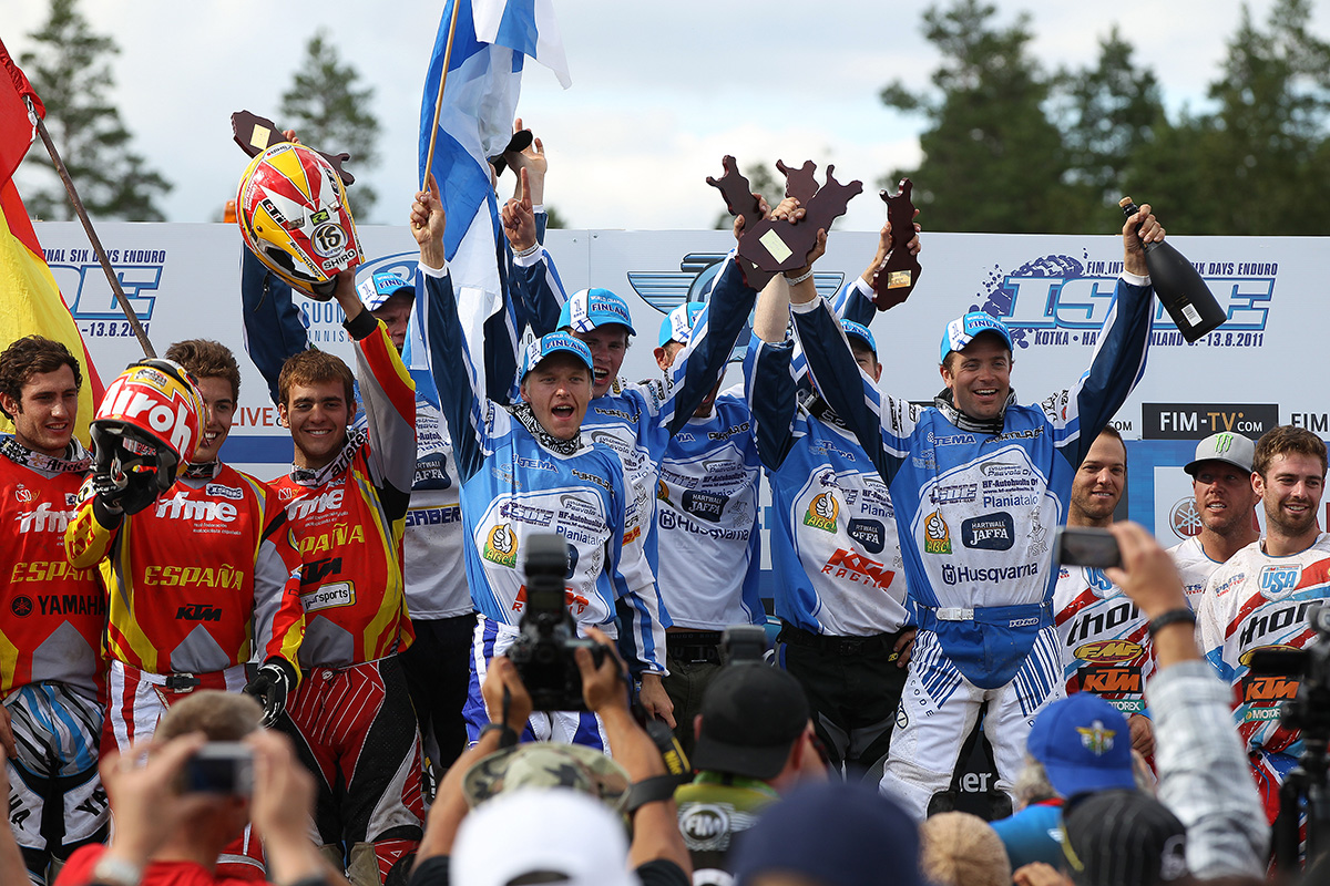 ISDE History: the Finnish years by Juha Salminen