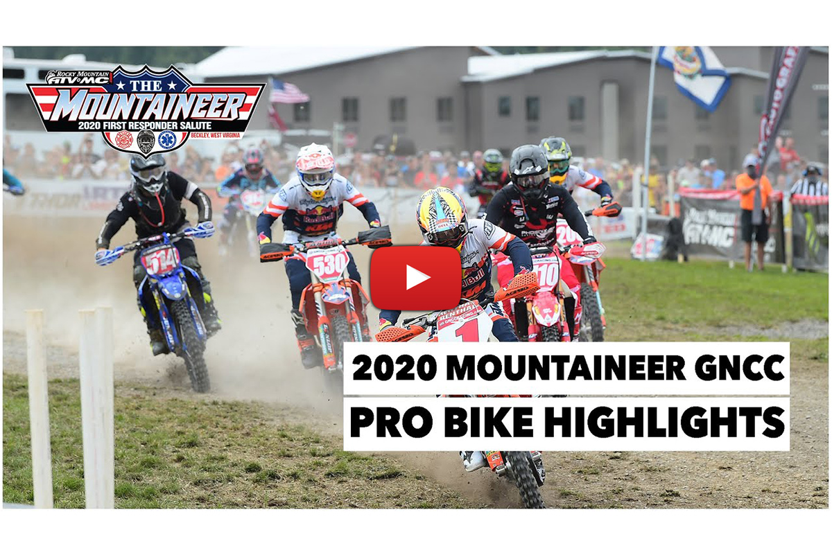 Mountaineer GNCC: Pro bike highlights – Baylor's mission statement