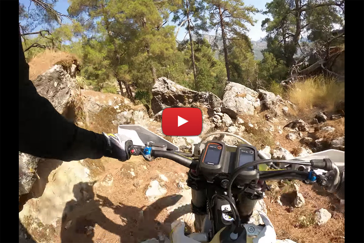 Sea to Sky: Hard Enduro Forest Race onboard with Graham Jarvis