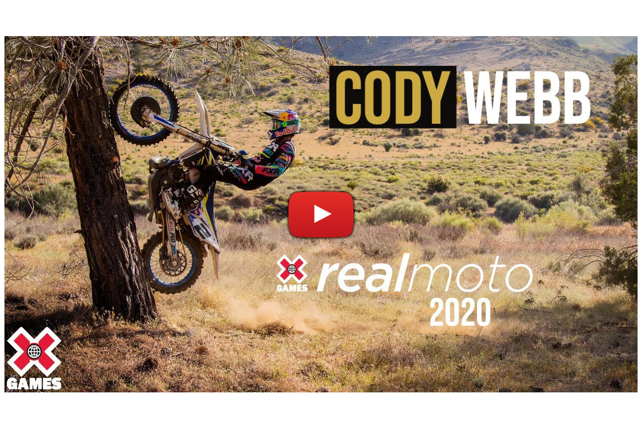 X Games Real Moto 2020: Cody Webb got skills