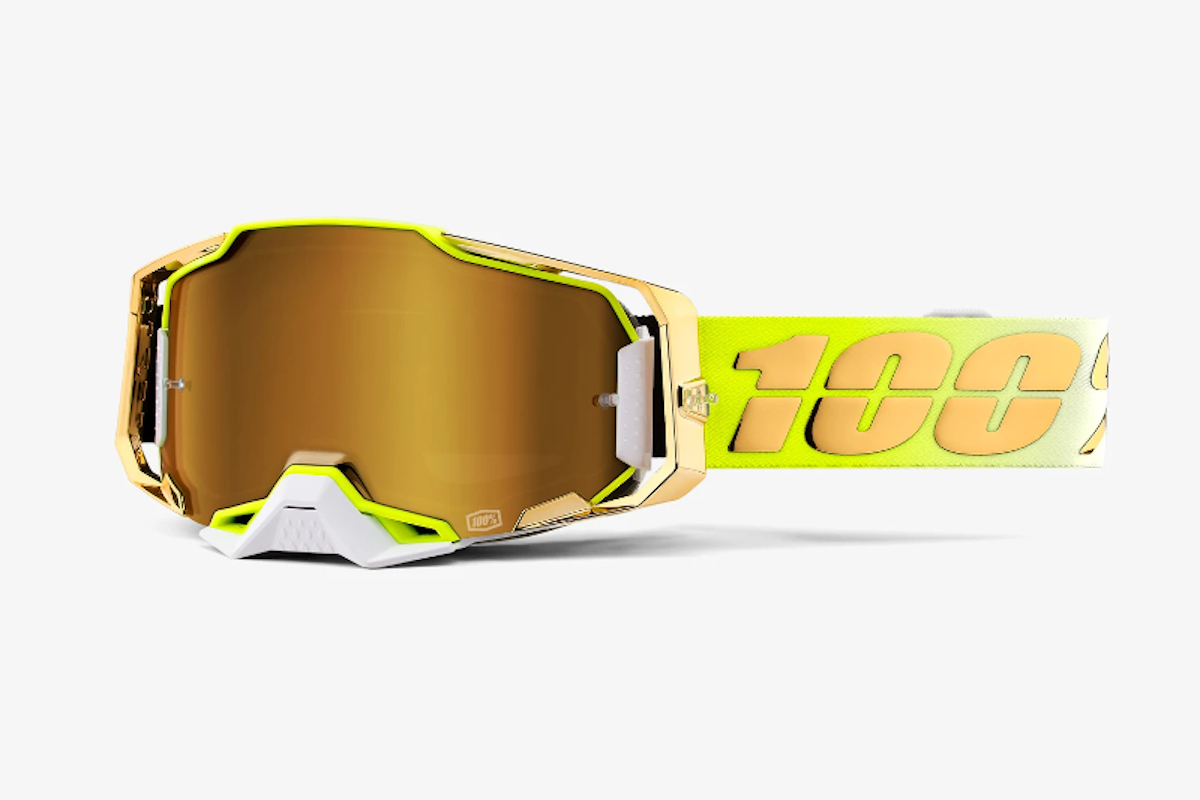 New designs across 100% goggle range for 2021