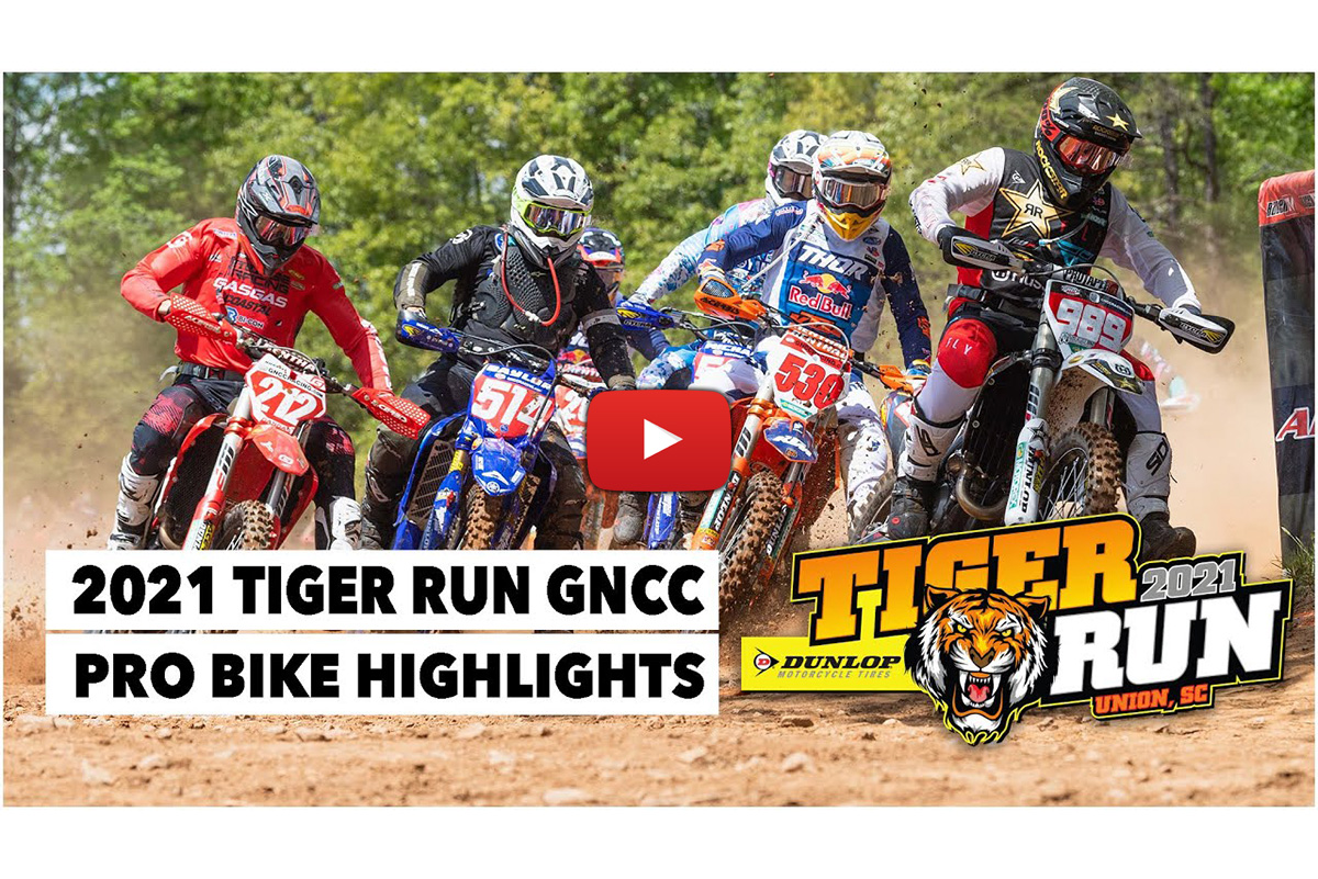 2021 GNCC highlights: Pro class catch-up from Tiger Run