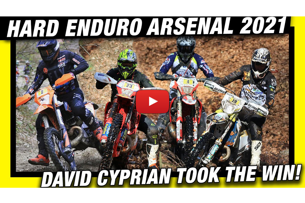 Hard Enduro Arsenal: Pro Class Video Highlights from Romania
