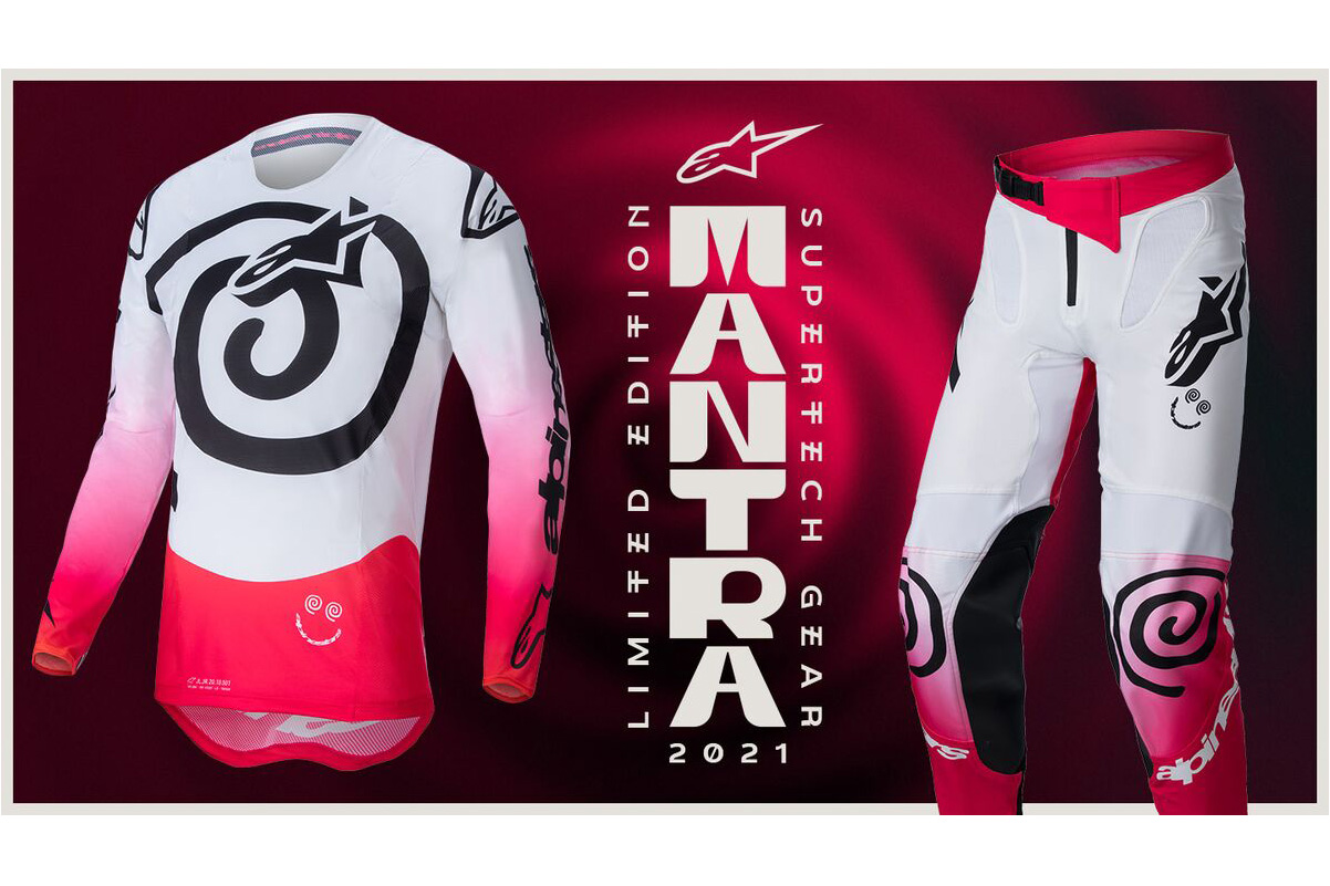 Alpinestars release limited edition 'Mantra' Supertech gear