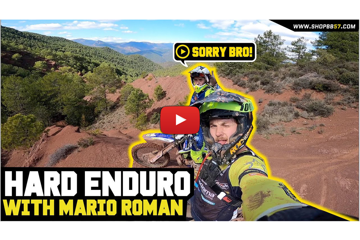 Billy Bolt Hard Enduro training with Mario Roman