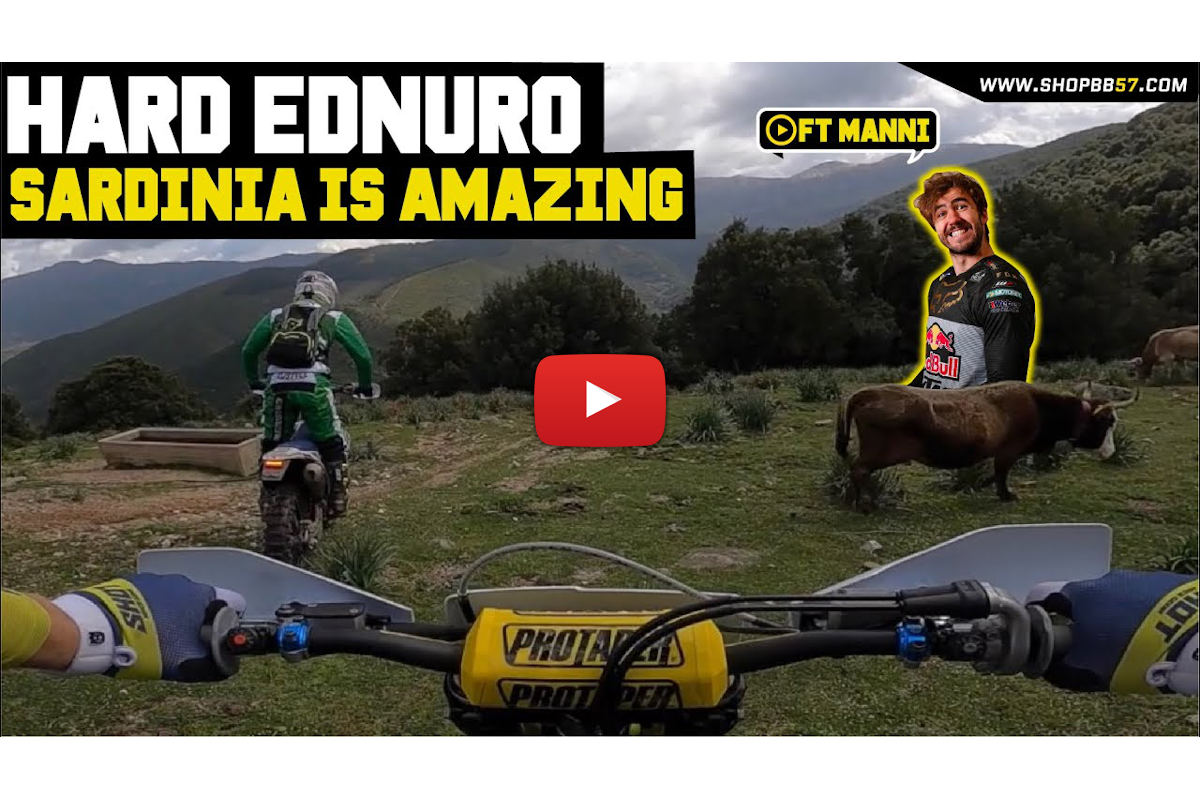 Billy Bolt's Sardinia trip with Manuel Lettenbichler