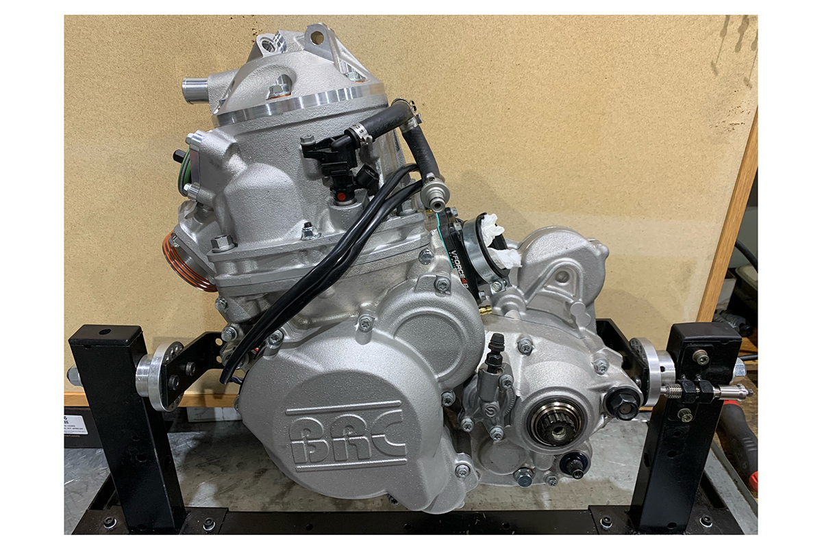 BRC Racing make 500cc, two-stroke TPi engines a reality