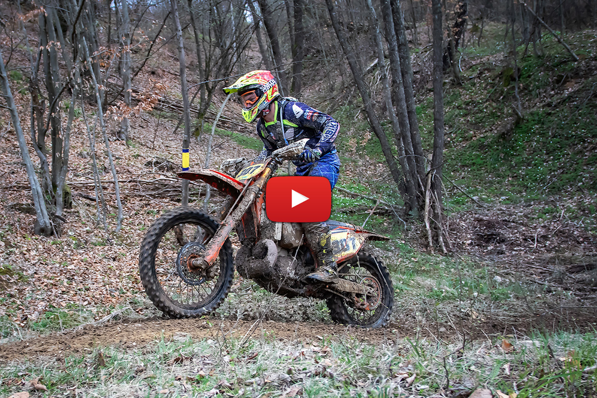 2021 Romanian Endurocross Championship – Onboard action from Rnd1