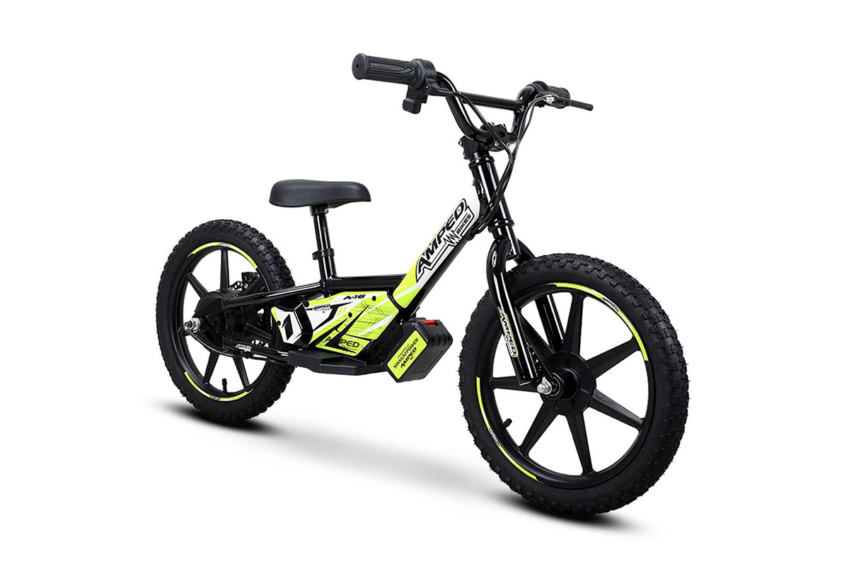AMPED Electric kids balance bikes