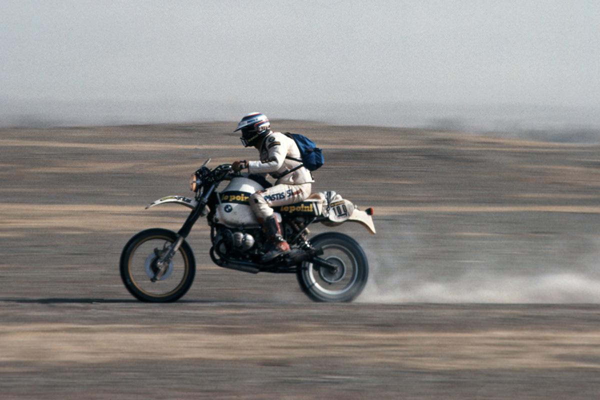 Dakar Legend Hubert Auriol has died