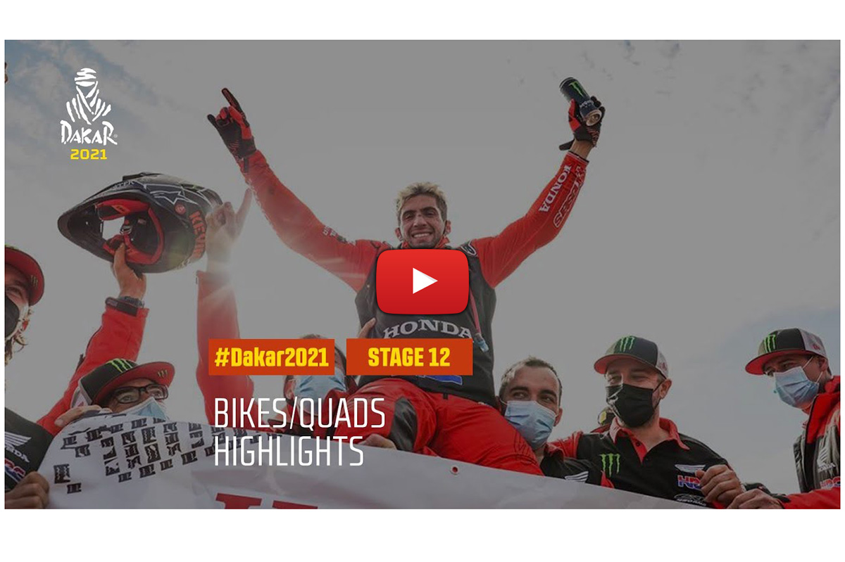 Dakar Rally 2021: stage 12 video highlights – down to the wire racing on the final day