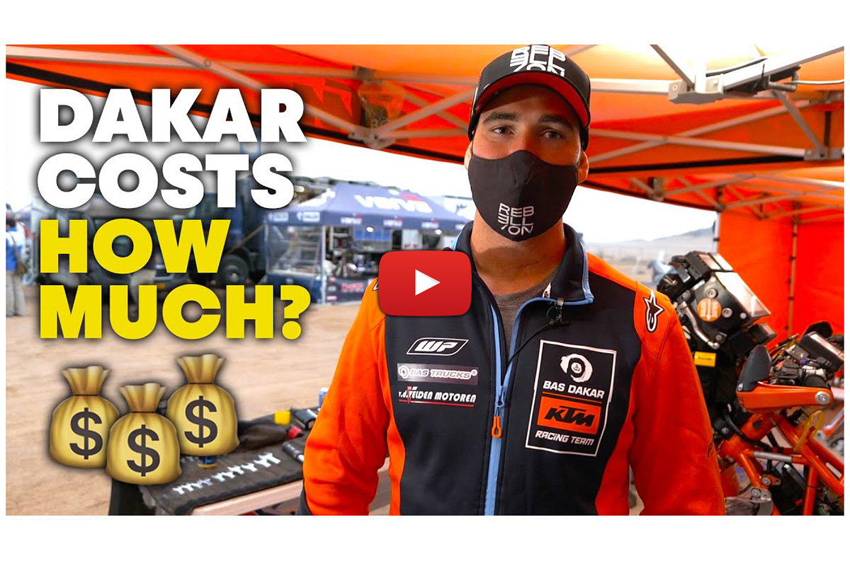 "How much does Dakar cost? ""I have to sell everything I own"" – Skyler Howes"