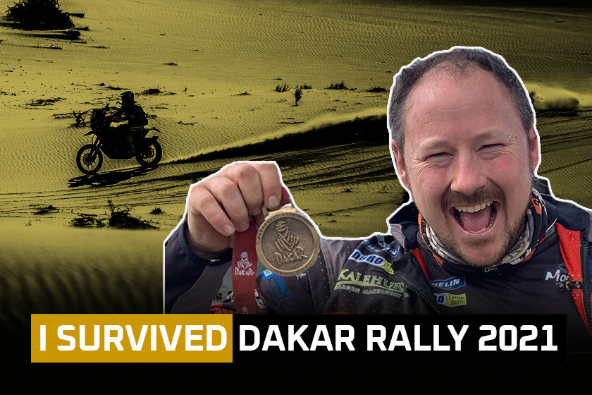 I Survived: 'Originals' class at the 2021 Dakar Rally