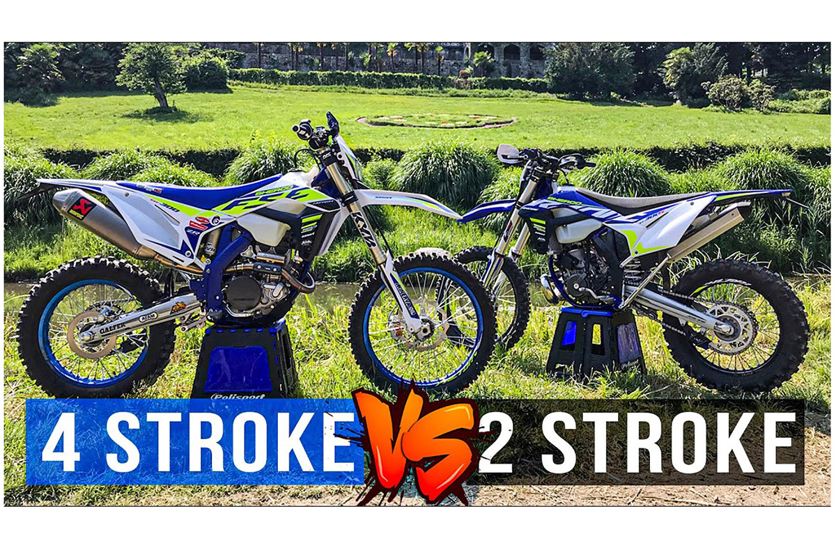 Two-stroke vs four-stroke: Mario Roman answers the age-old enduro debate