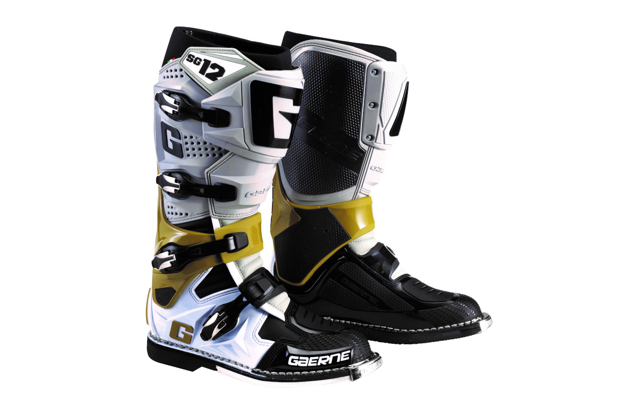 New colours for Gaerne's SG-12 off-road boot