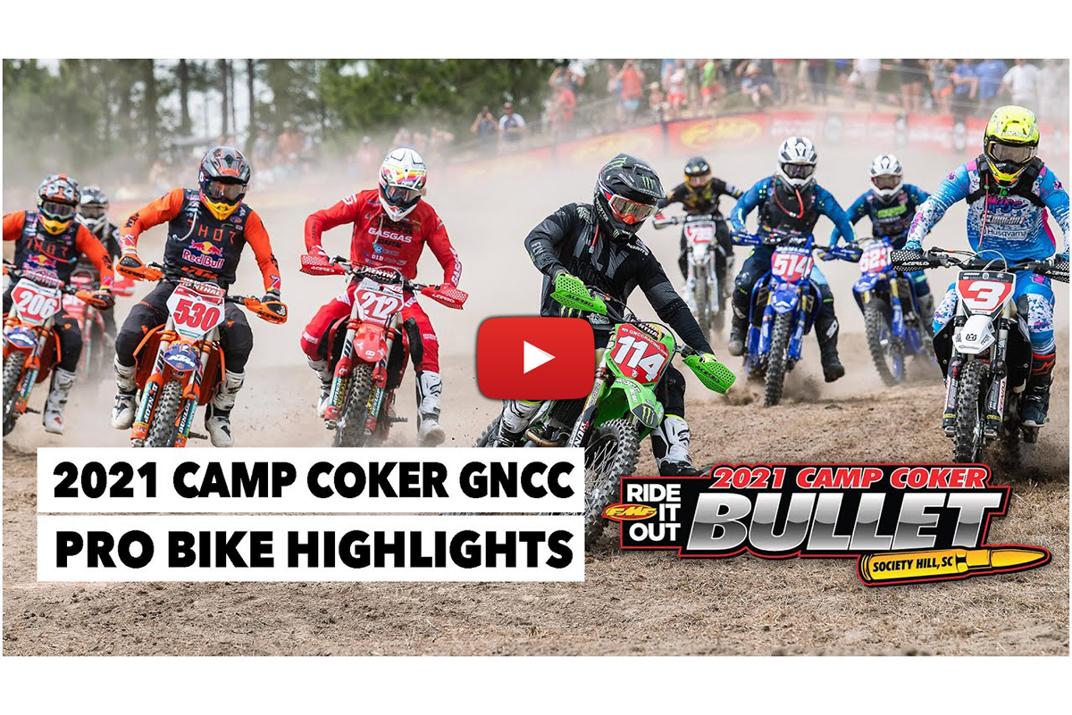 2021 GNCC highlights: Baylor and Strang's battle at Camp Coker Bullet