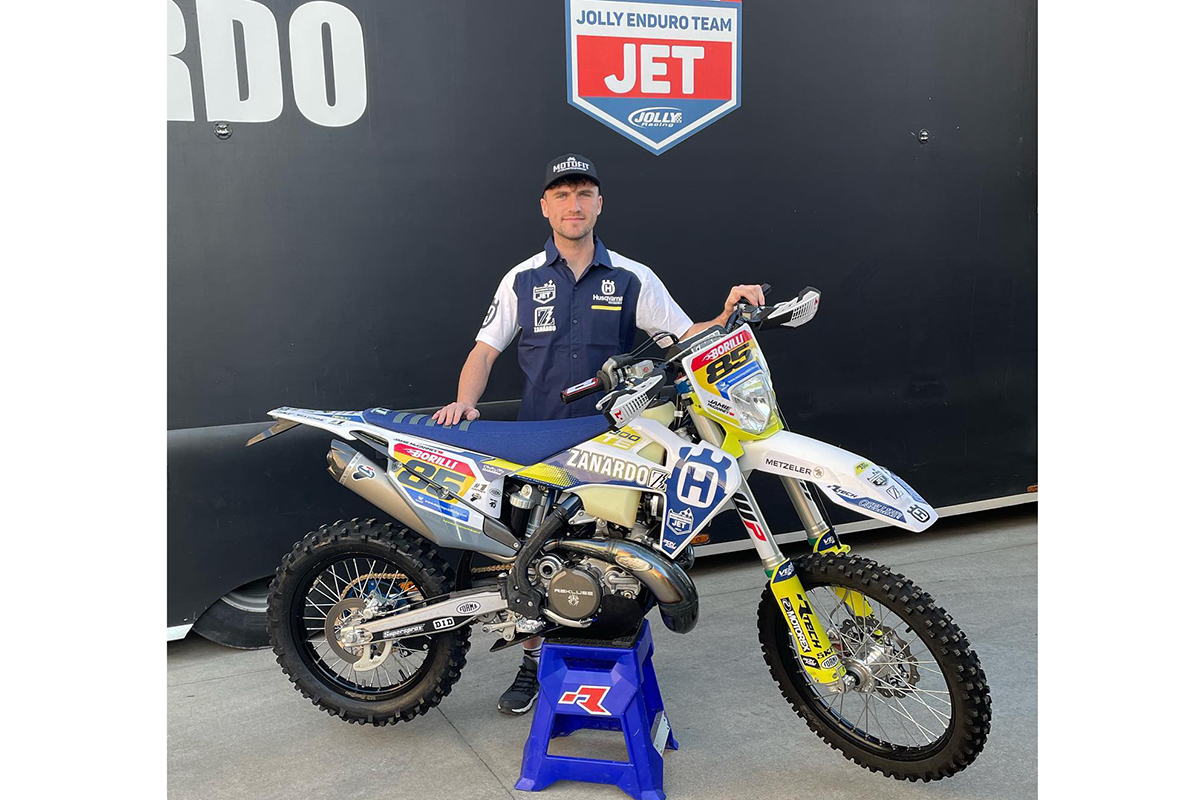 """I have unfinished business in Enduro"" – Jamie McCanney signs with Team Jet Zanardo Husqvarna"