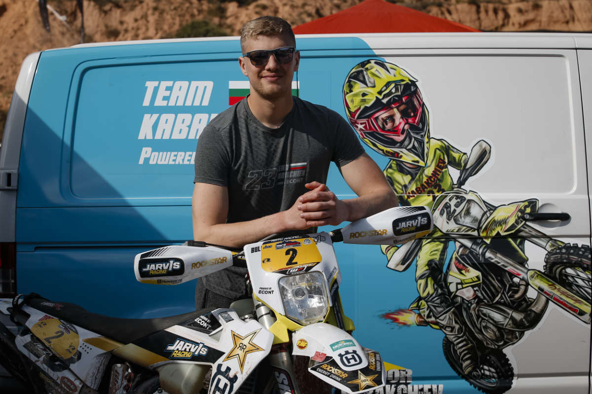 """My focus is the Hard Enduro World Championship!"" – Teodor Kabakchiev talks 2021 and Team Jarvis"