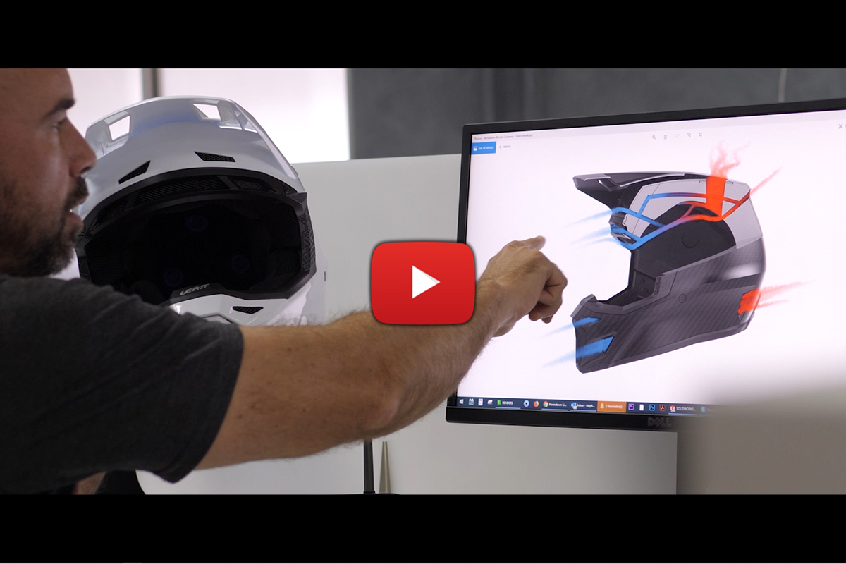 Leatt Heritage video series: Ep4, Helmets