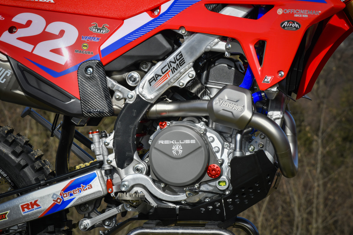 Pro Bike Gallery: 2021 RedMoto Honda World Enduro Team