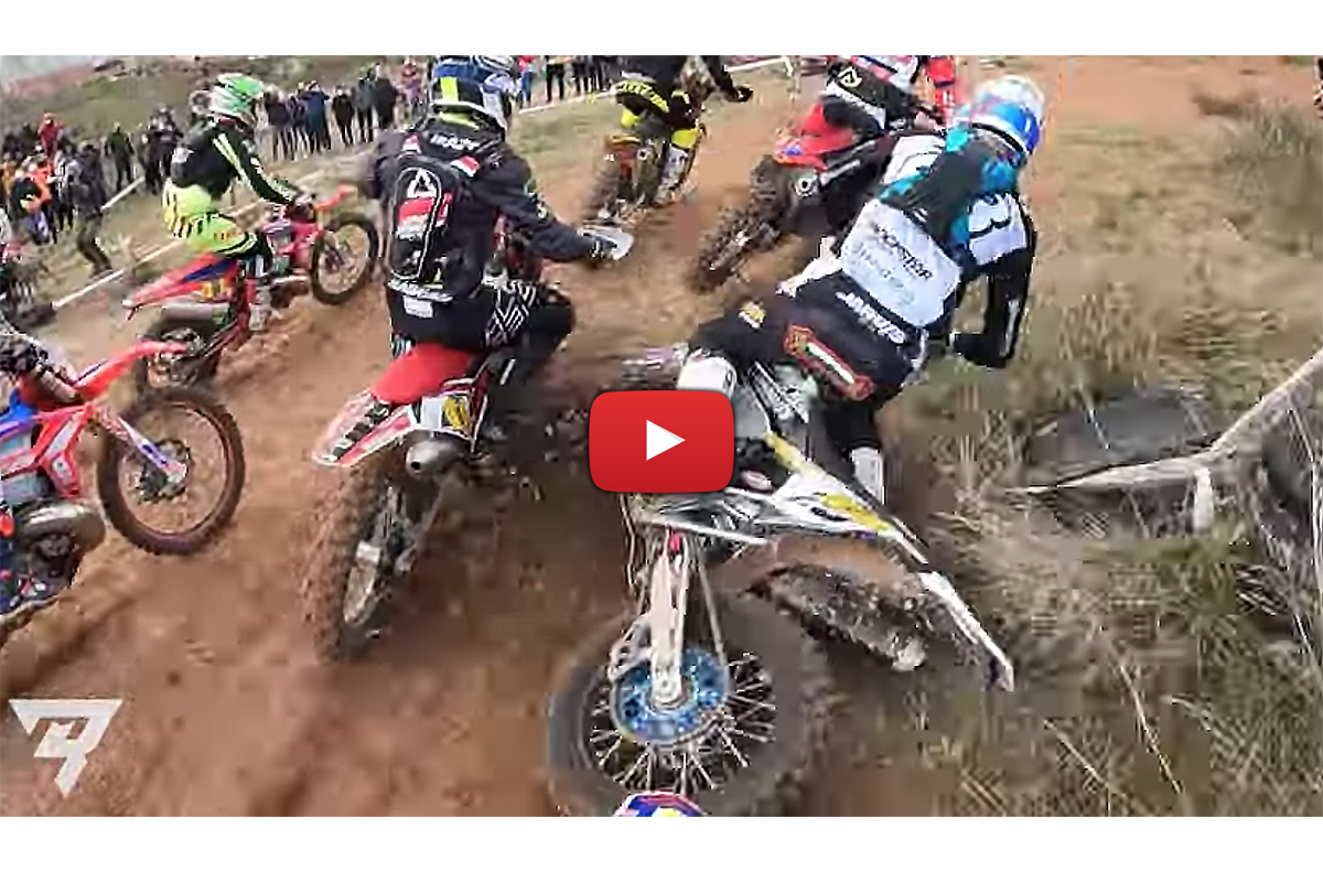 Spanish Hard Enduro: the win (& that crash) onboard with Mario Roman