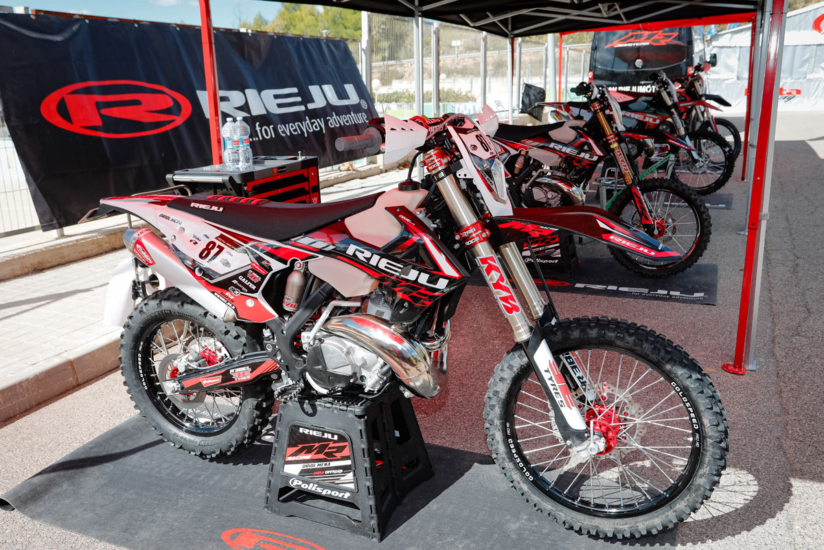 Rieju announce competitive prices for 2021 ISDE Bike Rental and Service