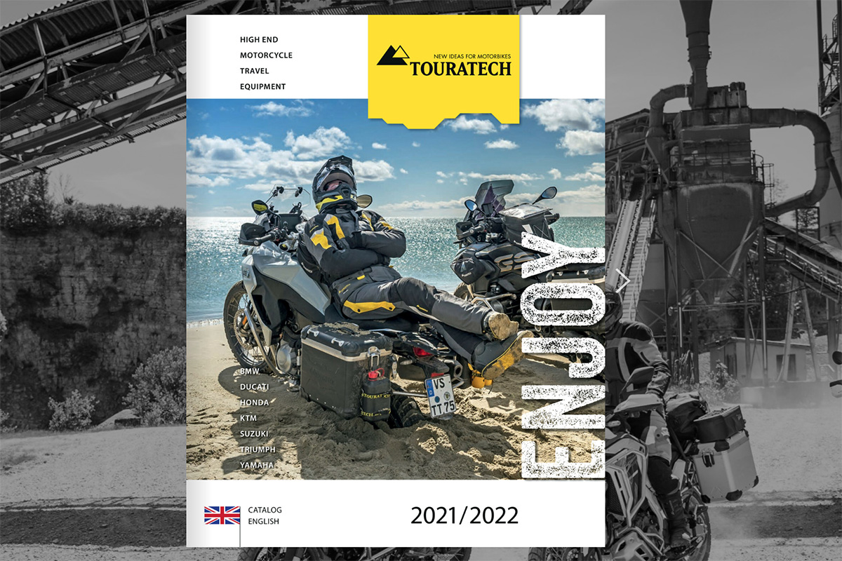 2021 Touratech Adventure bike catalogue